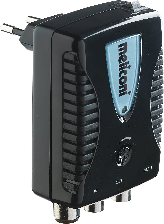 Meliconi 880100 AMP-20 - Amplificador de antena, hasta 20 dB ...