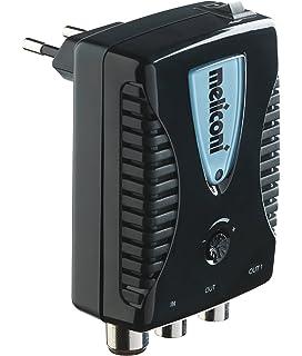 metronic 432187  Metronic 432187 Amplificatore TV FM/VHF/UHF per digitale terrestre ...