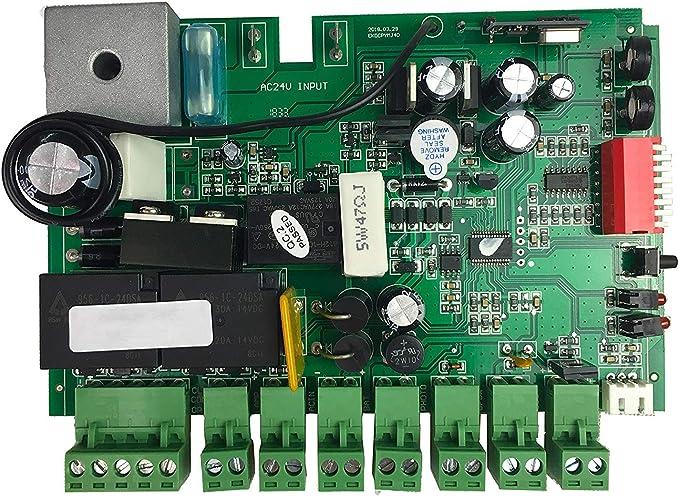 TOPENS DKPCB PCB placa de control de circuito impreso para DK1000(S) DKC1000 abridores de puertas correderas: Amazon.es: Bricolaje y herramientas