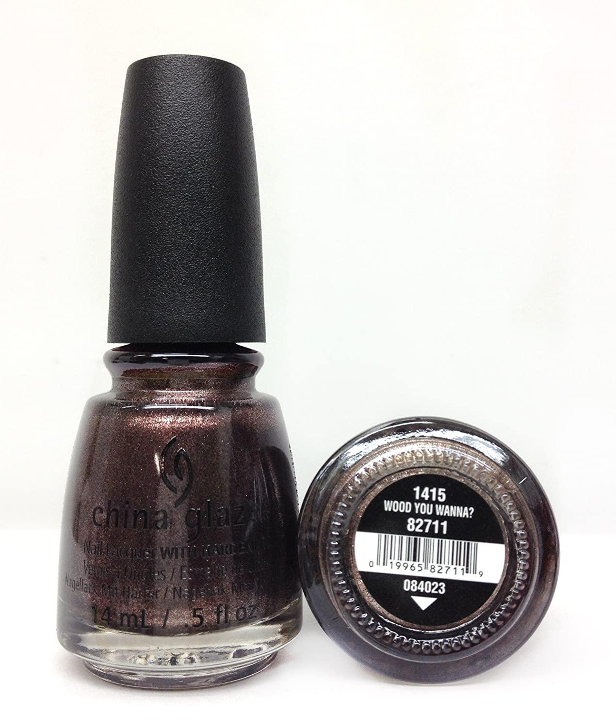Amazon.com : China Glaze The Great Outdoors Nail Lacquer, Wood You ...