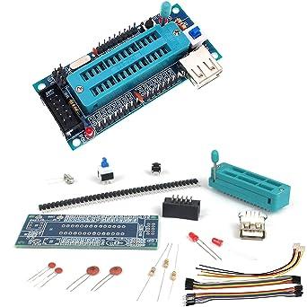 ATmega8 ATmega48 Development AVR Board Parts and Components DIY Kit No chip W