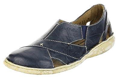 detaillierte Bilder Größe 40 Großhandel Josef Seibel Schuhe Damen Halbschuhe Slipper Inka 11 blau river