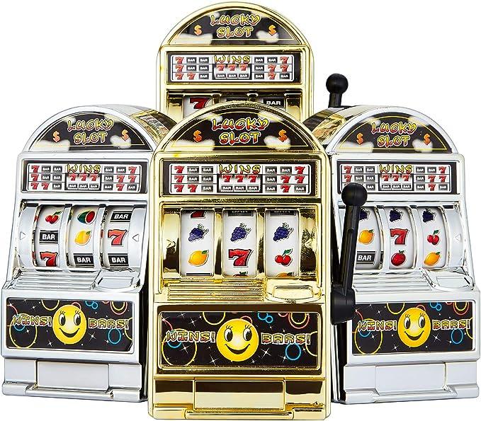 Mini Slot Machine Bank
