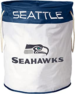 nfl seattle seahawks canvas laundry bag