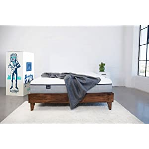 Lull Twin Mattress, 3 Layers of Premium Memory Foam Provide Comfort and Therapeutic Support, 100 Night Trial and 10-Year Warranty