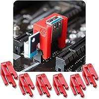 Aiyas3D [6 Unidades] PCI Riser Lock Clip - Asegurar Extensor 1x PCI mineria Ethereum, Bitcoin, Ravencoin a la Placa Base…