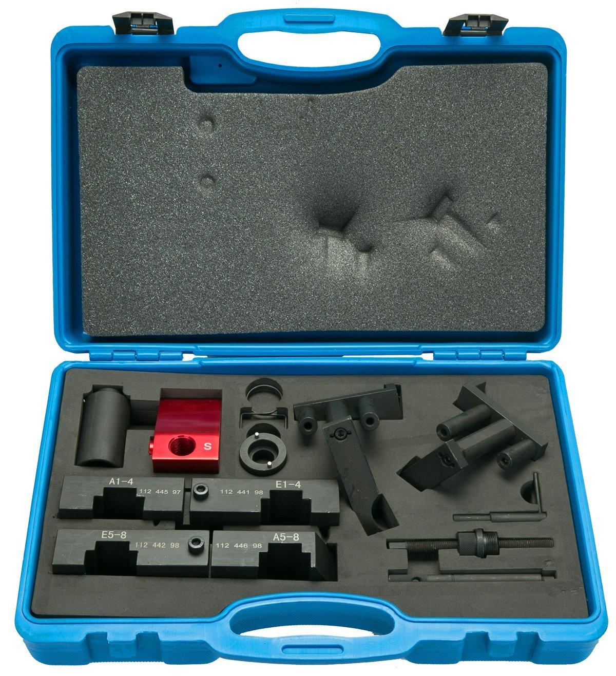 8MILELAKE Camshaft Alignment VANOS Timing Locking Tool Kit Compatible for BMW M60/M62 by 8MILELAKE (Image #1)
