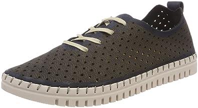 23618, Sneakers Basses Femme, Bleu (Navy), 39 EUTamaris
