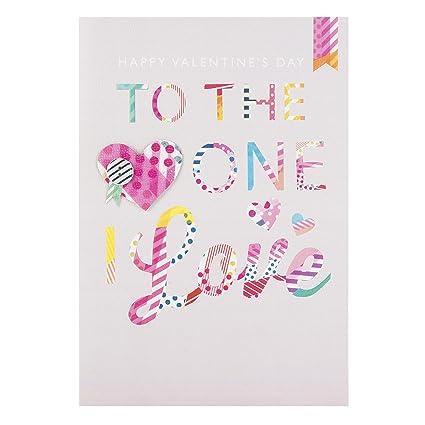 Hallmark Tarjeta del día de San Valentín para un amor de I ...