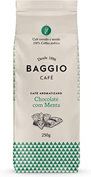 Baggio Aromas Chocolate Com Menta 250g Baggio Café Sabor Chocolate
