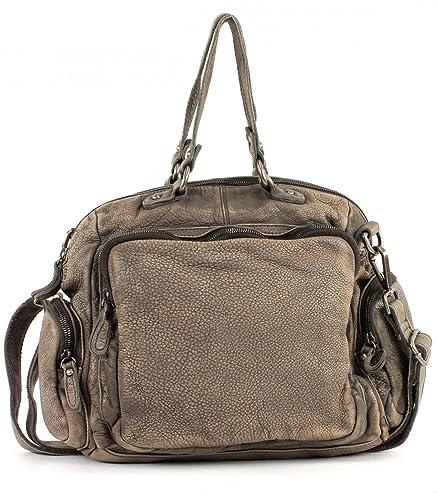 Outlet-Store herren stabile Qualität FREDsBRUDER Handtasche Knautsch mixed grey: Amazon.de ...