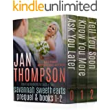 Markers: Savannah Sweethearts Prequel & Books 1-2: Coastal City & Beach Town Christian Romance (Sweethearts Boxed Set Collect