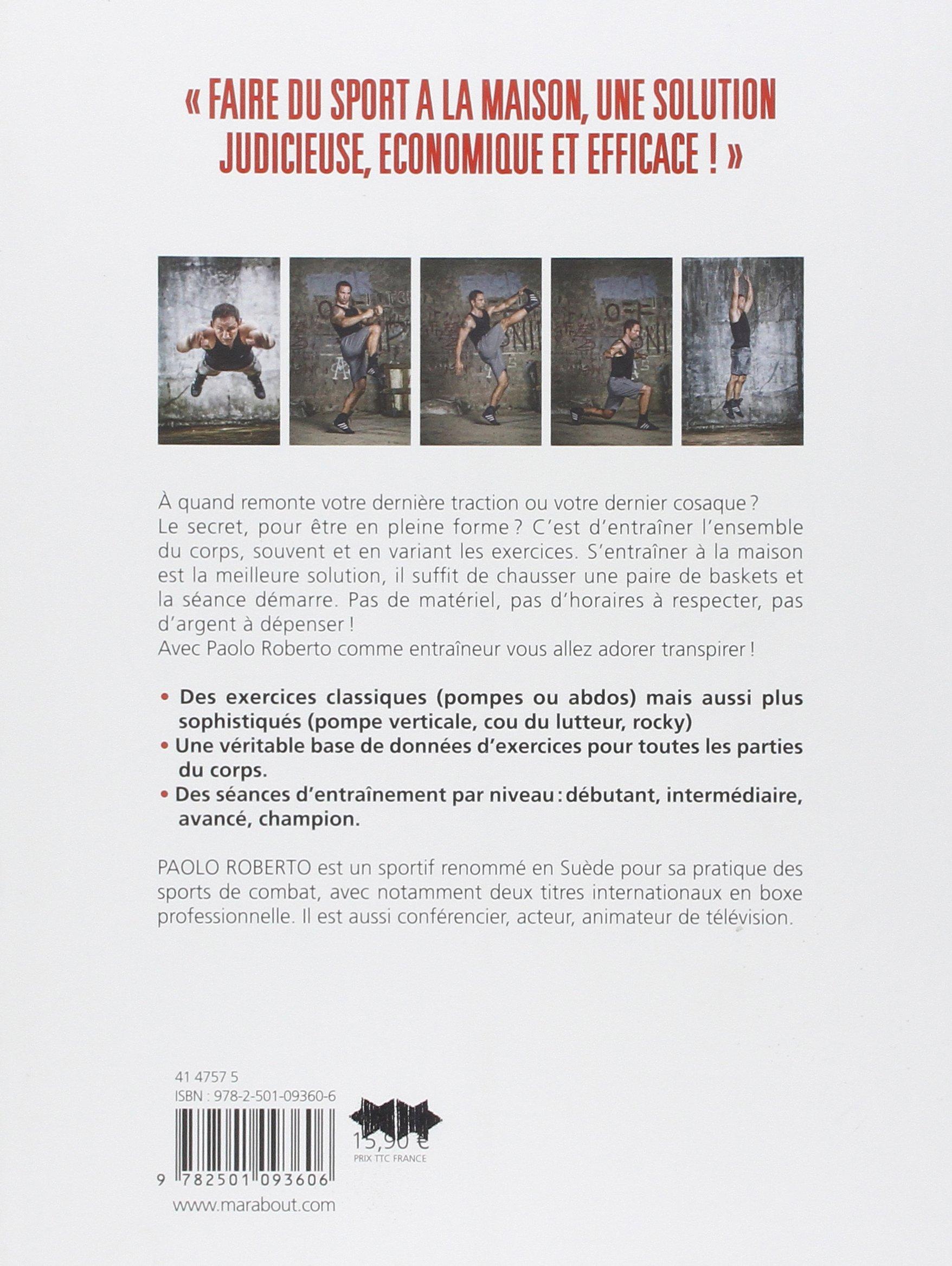 Exceptionnel Amazon.fr - Manuel de musculation sans appareil: Des exercices  IR24