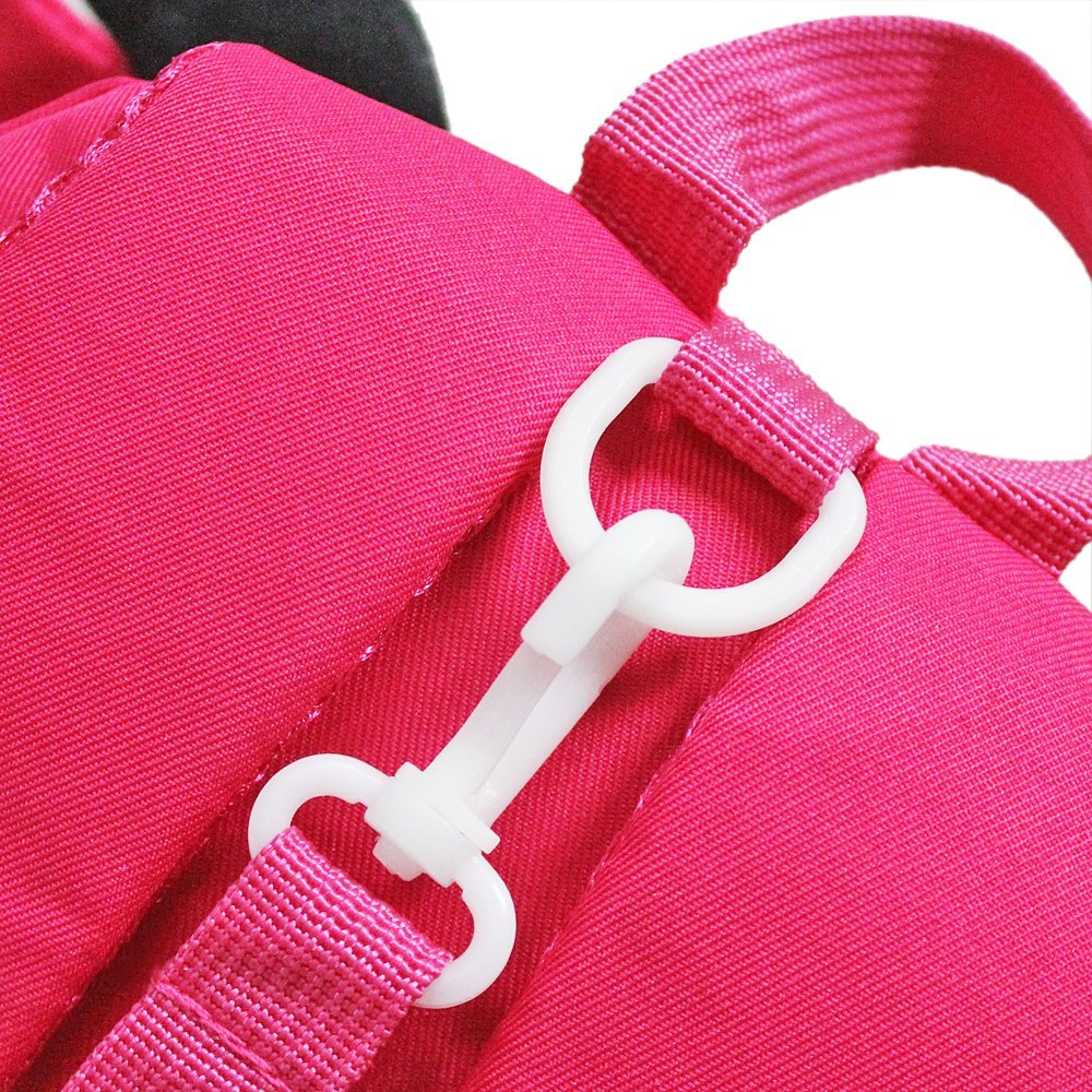GinTai Canvas Butterfly Kid's Backpack Rose Red by GinTai (Image #6)
