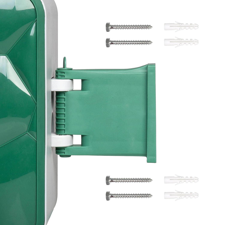 Berlan Automatischer Schlauchaufroller f/ür Wasserschlauch Premium 30 Meter