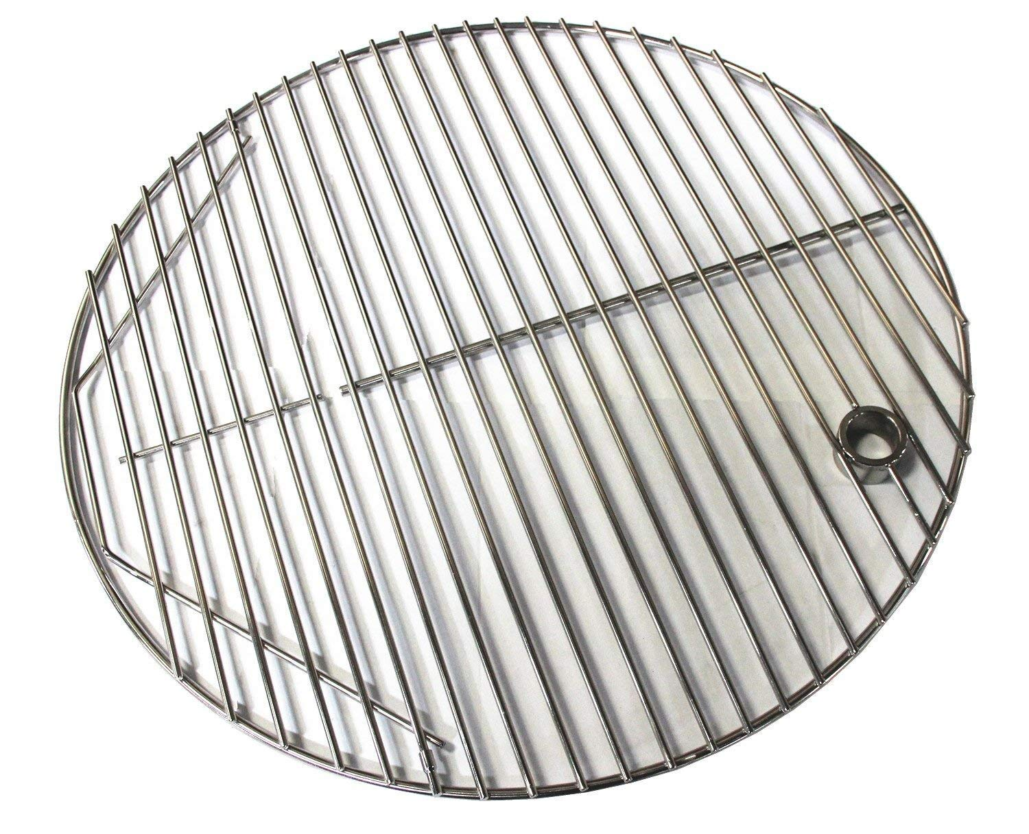 Hongso SCG195 19.5 BBQ Stainless Steel Round Cooking Grates / Cooking Grid for Kamado Ceramic Grill 20 inch Grill Grate