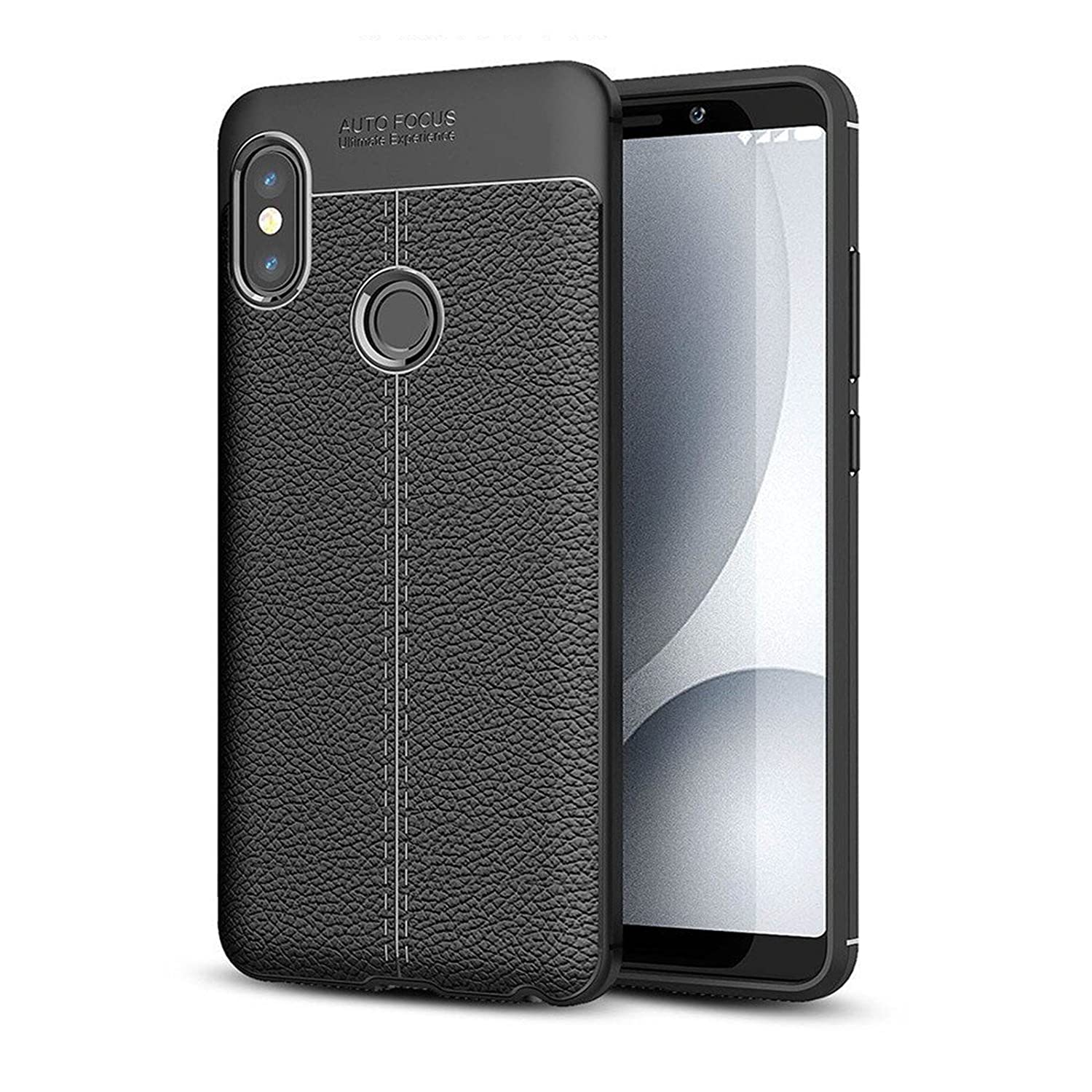 Pokrywa Xiaomi redmi Uwagi 5 Pro Digital Bay okładka Case [Flexible Back Cover] Retro Case [TPU] Comodo wstrząsoodporny Miękkie Slip Case Cienki czarny dla Xiaomi redmi 5 Notatki Pro