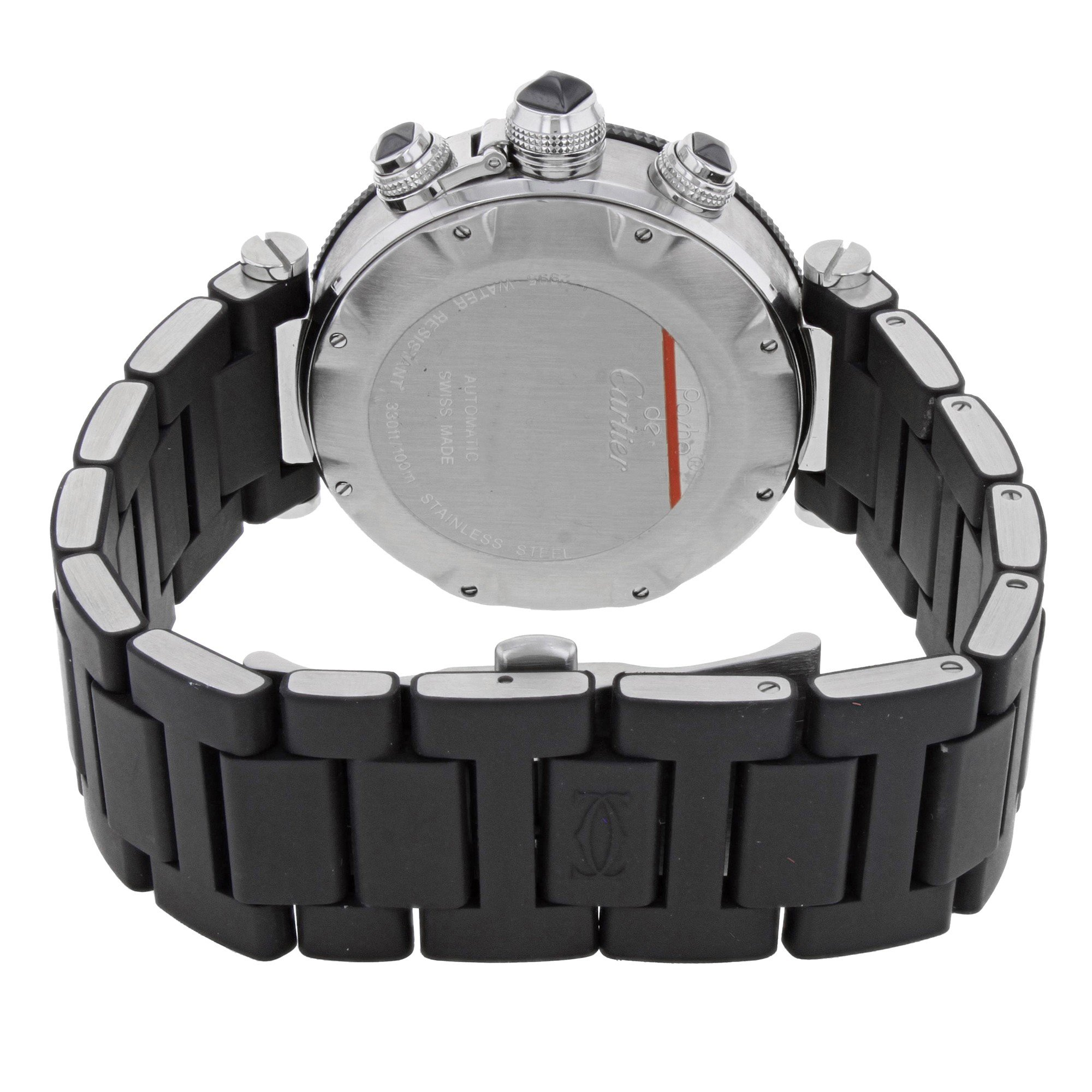 Cartier Pasha Seatimer W31088U2 Stainless Steel Automatic Men's Watch(Certified Pre-owned) by Cartier (Image #4)