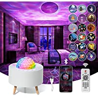 Star Projector Light,LED Projector Light USB Star Lights Projector with Bluetooth Music Speaker,Starry Sky Light with…