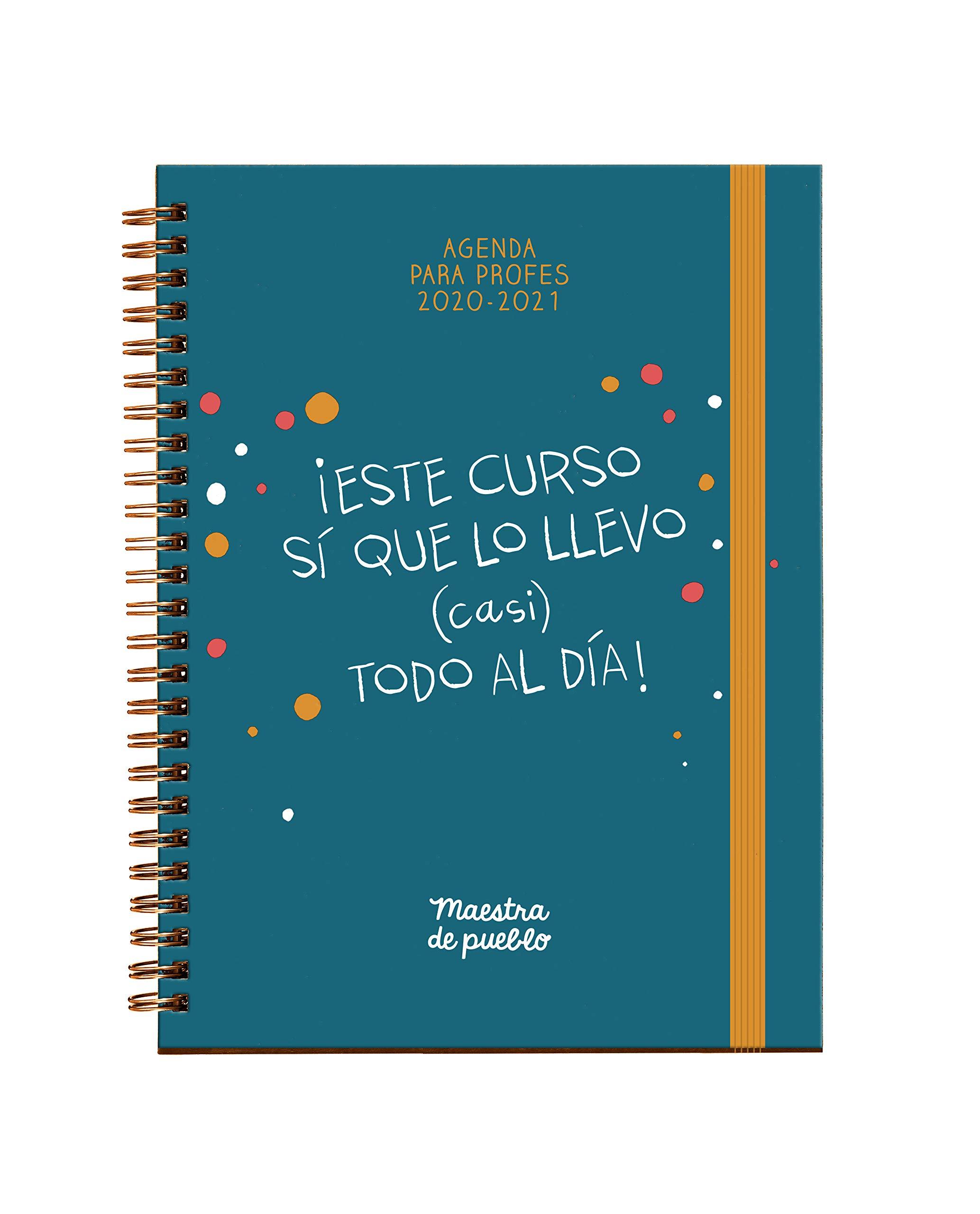 Agenda Maestra de pueblo 2020/2021 (Grijalbo): Amazon.es: Maestra ...