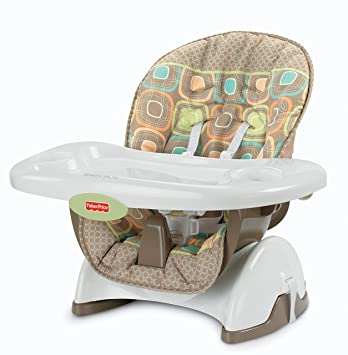 amazon com fisher price space saver high chair coco sorbet