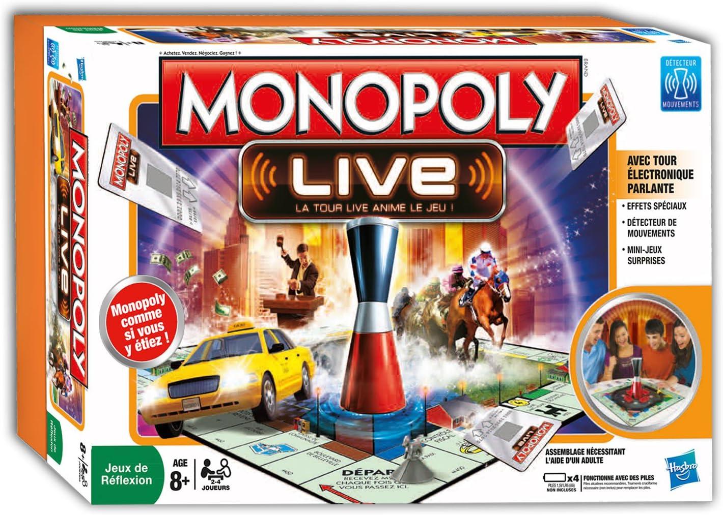 Hasbro Monopoly Live: Amazon.es: Juguetes y juegos
