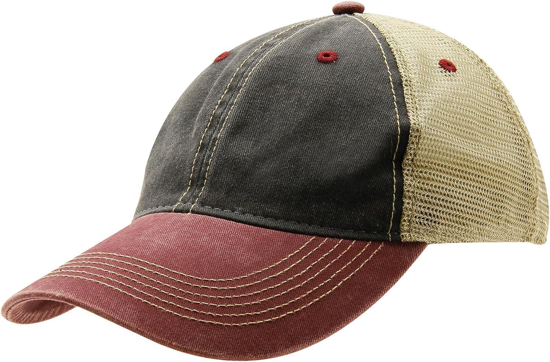 Ouray Sportswear Women's Legend Vintage Wash Trucker Cap