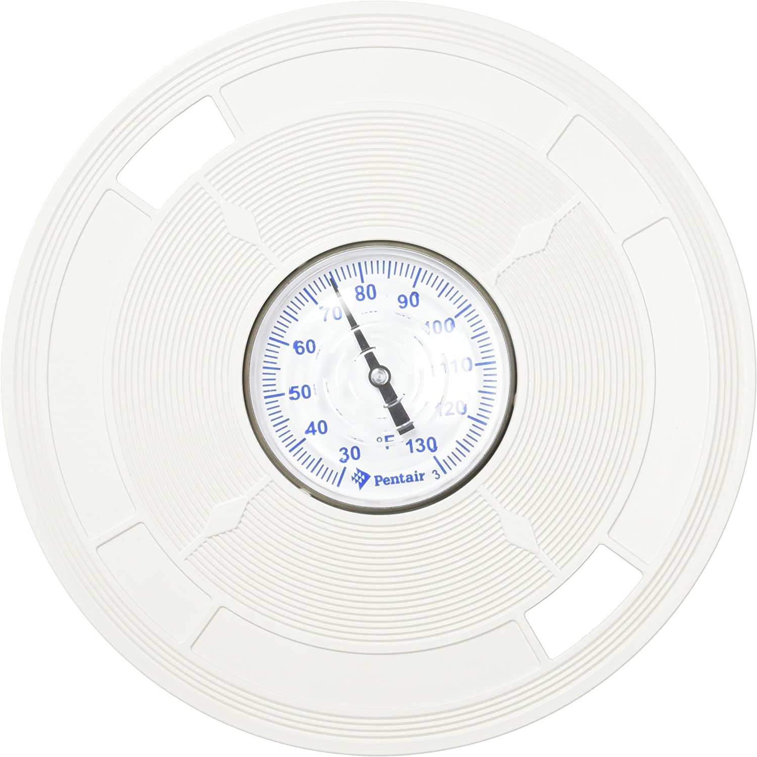 Pentair L5 8-3//8-Inch White Lid Replacement Pool and Spa Skimmer with Thermometer
