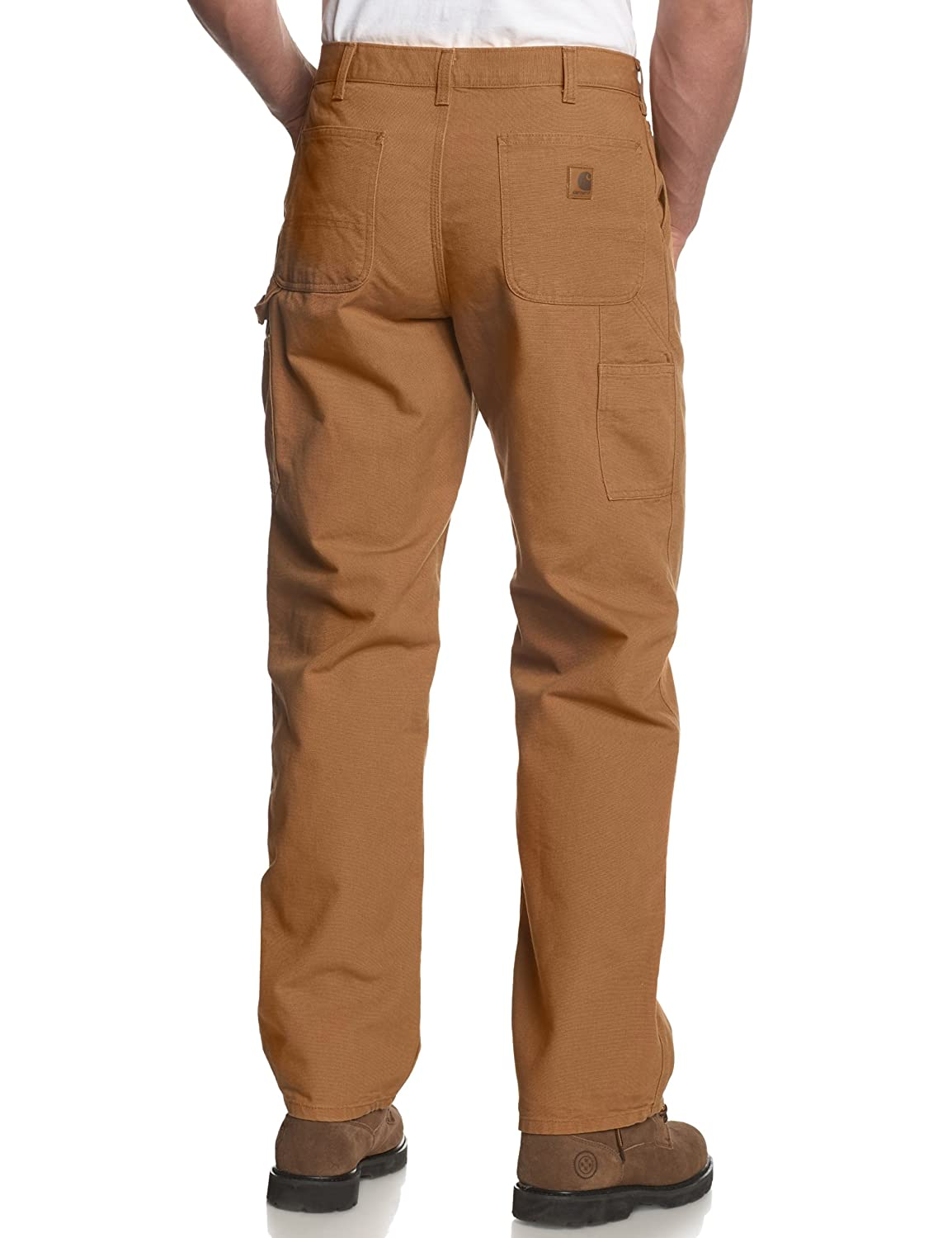 40d4f10727 Amazon.com: Carhartt Men's Big & Tall Washed Duck Work Dungaree B11:  Clothing