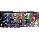 Funkey™ Avengers Toys Set- Action Figure Toys Set of 5 Avengers ( Multicolor )