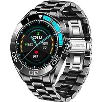 LIGE Smartwatch para Hombre, IP67 Impermeable Rastreador de Ejercicios Frecuencia Cardíaca Oxígeno en Sangre Monitor de…