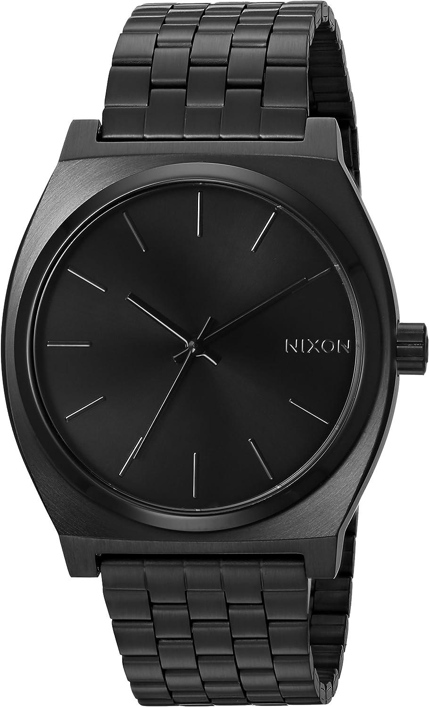 Nixon Reloj Hombre Negro, Negro Dorado, Negro Bronze