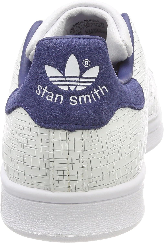 adidas Stan Smith W, Zapatillas para Mujer Blanco Footwear White Footwear White Noble Indigo 0 UN9I1