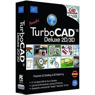Avanquest TurboCAD 18 Deluxe - Software de diseño automatizado (CAD) (PC, Pentium IV, 512 MB, 300 MB, 2000 MB, - 64+ MB of swap space - Super VGA (1024 x768) display - High Colour (16 bit) graphics support -...)