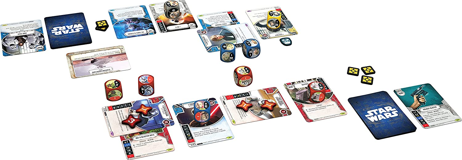 Fantasy Flight Games Star Wars Destiny: Rey, baraja de Principiante.