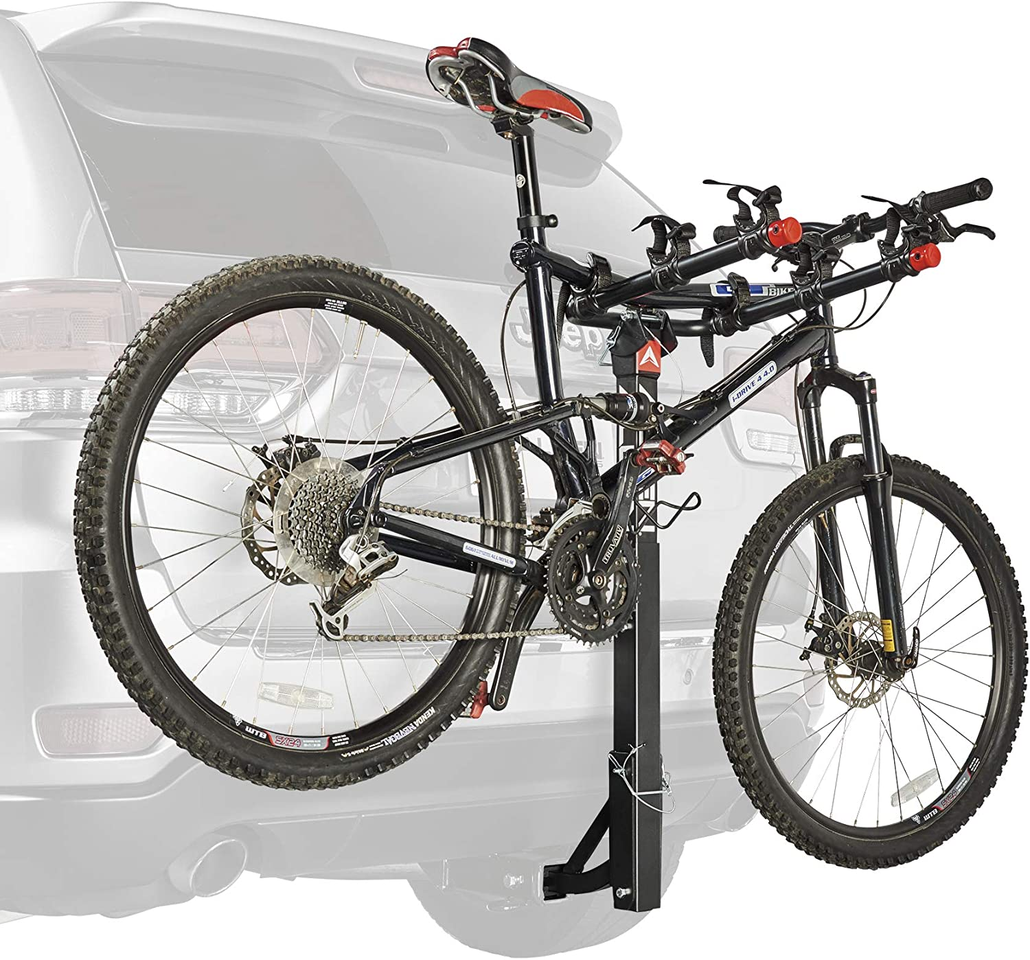 and 2 in Hitch Allen Sports 3-Bike Hitch Racks for 1 1//4 in