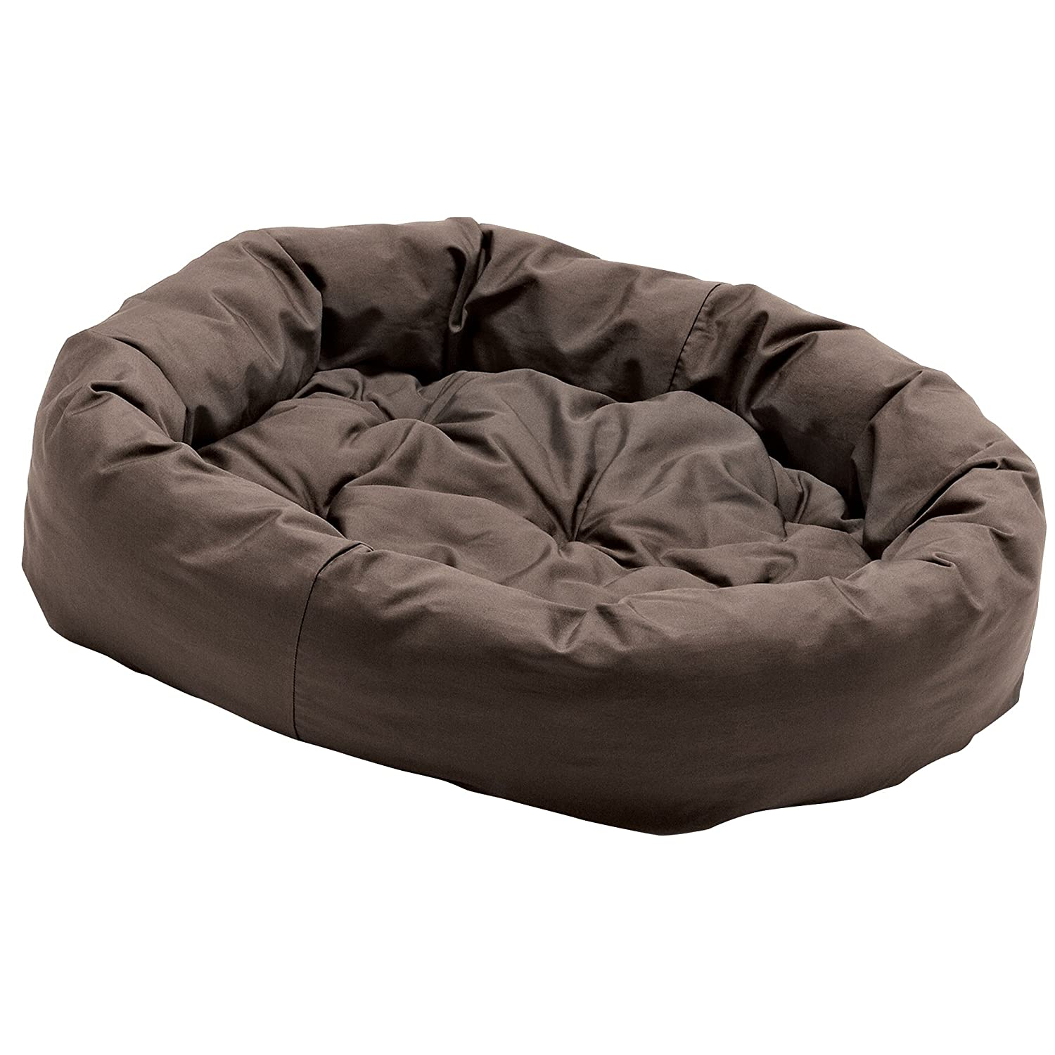 Dog Gone Smart Donut Pet Bed (Large) (Brown)