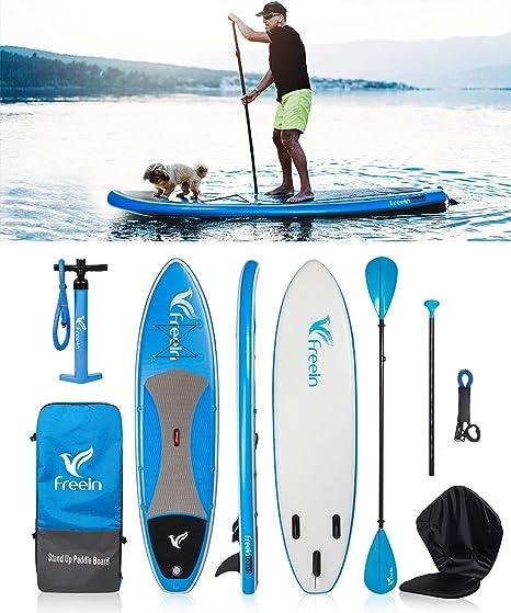 Surfboard Stand Up Paddle Surfen Aufblasbar Windsurf iSUP Paddling 305cm Surfen