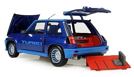 Universal Hobbies UH4521 Renault 5 Turbo - Coche de modelismo, color azul: Amazon.es: Juguetes y juegos