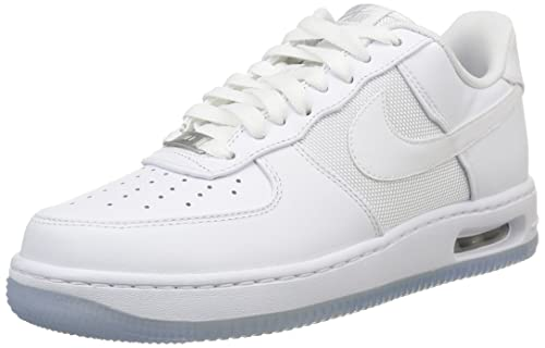 Nike Air Force 1 Elite Zapatillas de Baloncesto, Hombre, Blanco/Gris, 42 1/2: Amazon.es: Zapatos y complementos