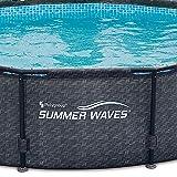 "Summer Waves 12' x 33"" Above Ground Pool Set"