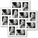 Zep MF104 Milano Cadre Photo Multi Vues Bois Blanc 12 x 10/15