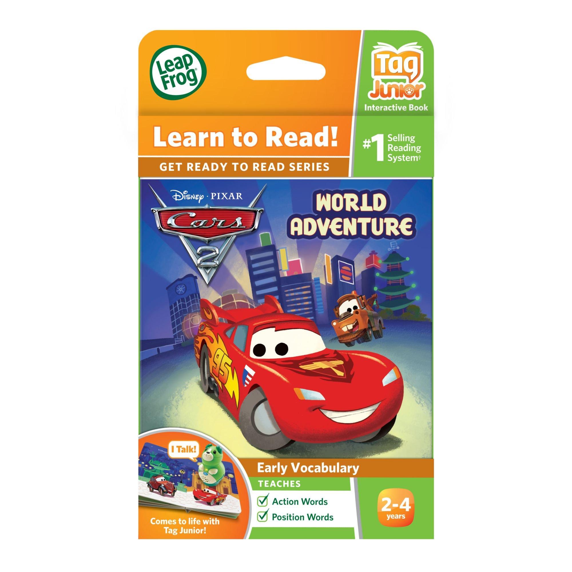 Leapfrog LeapReader Junior Book: DisneyPixar Cars 2: World Adventure (works with Tag Junior) by LeapFrog (Image #4)