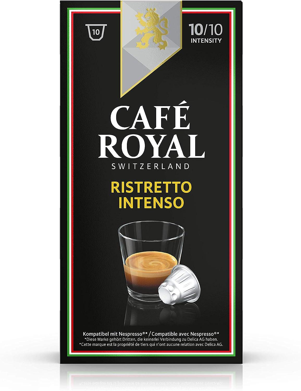Café Royal Italian Edition Ristretto Intenso, 10 cápsulas ...
