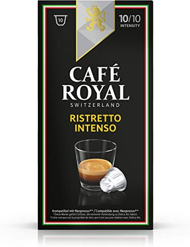 Café Royal Italian Edition Ristretto Intenso, 10 cápsulas ...