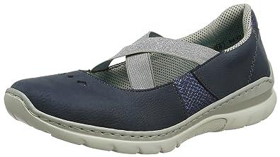 Rieker L3280-14, Sneakers Basses Femme, (14), 41 EU