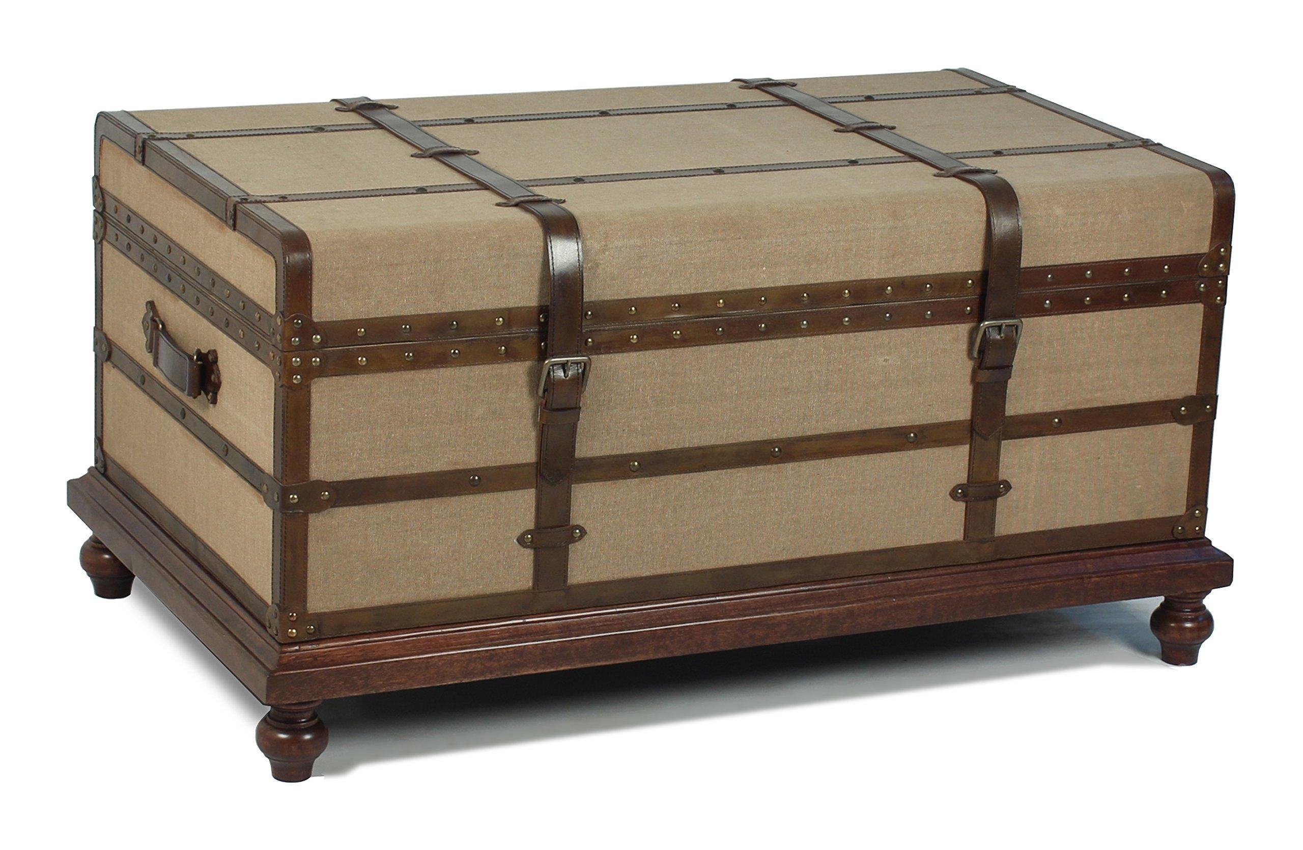 Sarreid 30880 Laramie Trunk Coffee Table