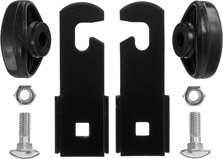 Negro//Plata Bobike strebenverlaengerung Accesorios One Size