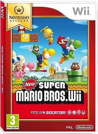 Nintendo New Super Mario Bros., Wii - Juego (Wii, Nintendo Wii ...