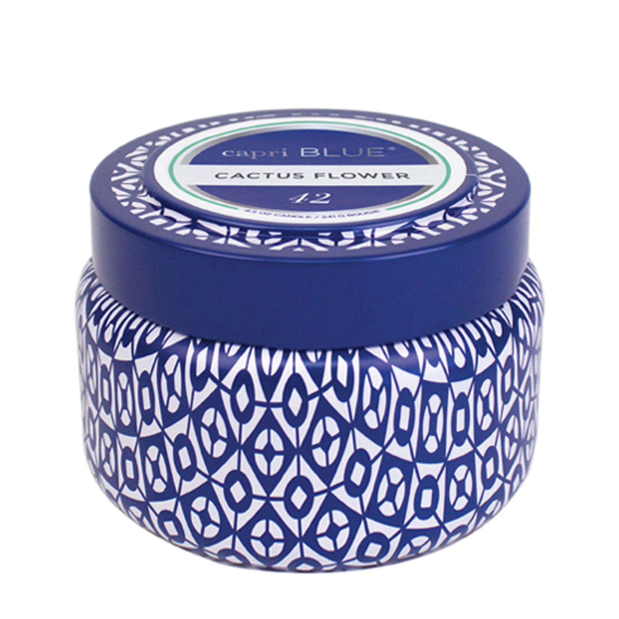 Capri Blue Travel Tin: Cactus Flower